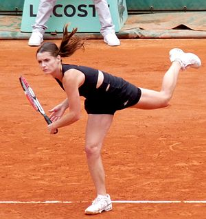 Iveta Benešová - Benešová at the 2009 French Open