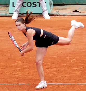 Iveta Benešová - Benešová at the 2009 French Open