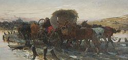 Józef Brandt: Jews were leading the horses on the market
