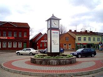 Jēkabpils - Image: Jēkabpils pilsētas laukums