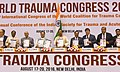 J.P. Nadda releasing the publication at the inauguration of the 3rd International Congress of the World Coalition for Trauma Care and 8th Annual Conference of the Indian Society for Trauma and Acute care, in New Delhi.jpg