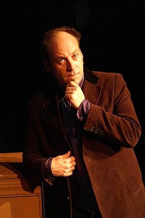 Jason McHugh - Jason McHugh as Mr Mills, August 2008
