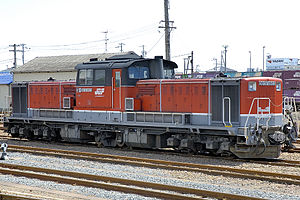 Japan Freight Railway Company - Image: JRF DD51 1803 20070812