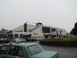 Higashi-Funabashi Station - North side of the station, December 2007