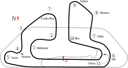 Formula One layout