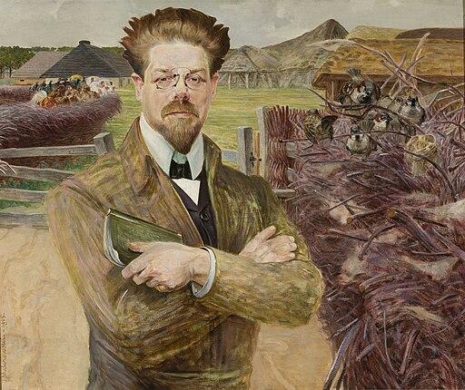 Jacek Malczewski - Portret Władysława Reymonta