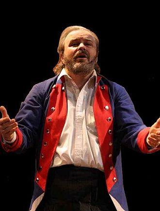 Jack Bradford - Bradford as Jean Valjean in Les Misérables