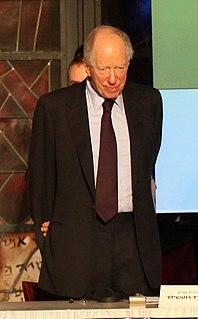 Jacob Rothschild, 4th Baron Rothschild English peer, investment banker and philanthropist (born 1936)