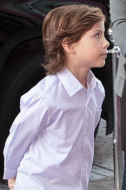 Jacob Tremblay vuonna 2015.