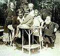 Jadwiga Chrząszczewska visit to Zalesie, 1925.jpeg