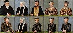 Lucas Cranach the Younger: Jagiellon Family
