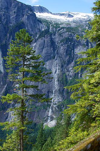 James Bruce Falls - James Bruce Falls (on the vertical face).