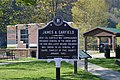 James Garfield marker in Pikeville park.jpg