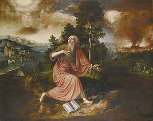 Jan Matsys - The Apocalypse of Saint John the Evangelist, (1563)