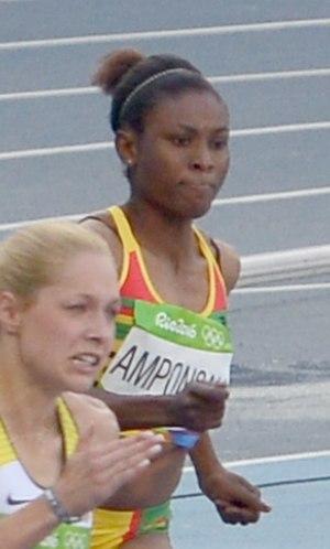 Janet Amponsah - Amponsah at the 2016 Olympics