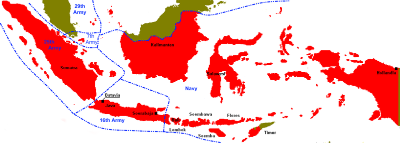 Map prepared by the japanese during world war ii asian history image gumiabroncs Images