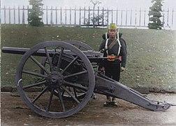 Japanese artilleryman, 1882 (34417907810).jpg