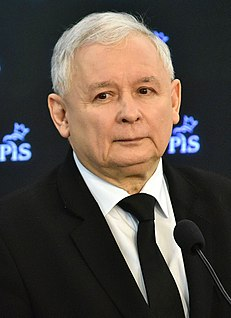 Jarosław Kaczyński Polish politician and lawyer, Law and Justice partys leader