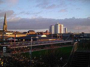 Jarrow - Jarrow town centre in 2005