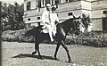 Jawaharlal Nehru and Sanjay Gandhi riding a horse.jpg