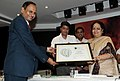 Jayanthi Natarajan presenting the Centre For Science Green Rating Project Awards 3 Leaves to Rashtriya Ispat Nigam Limited, Visakhapatnam Steel Plant, Visakhapatnam, Andhra Pradesh, at a function, in New Delhi.jpg