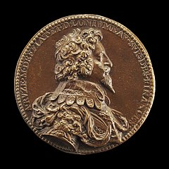 Antoine Coëffier, called Antoine Ruzé, 1581-1632, Baron Longjumeau 1621 and Marquess of Effiat 1624 [obverse]
