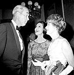 Jimmy stewart, loretta young and irene dunne in 1962.jpg