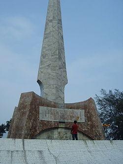 Jinchengjiang army monument.JPG