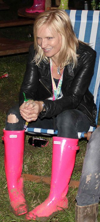Jo Whiley - Whiley backstage on 23 June 2011