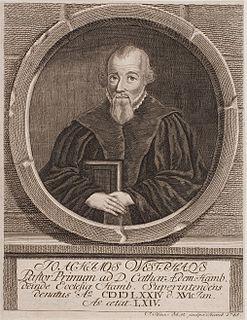 "Joachim Westphal (of Hamburg) German ""Gnesio-Lutheran"" theologian"