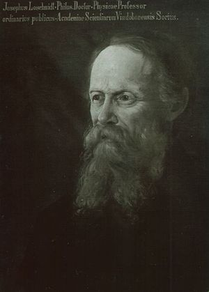 Johann Josef Loschmidt - Johann Josef Loschmidt