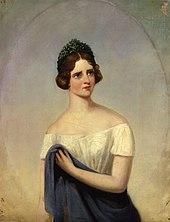 Jenny Lind (in La Sonnambula?), Porträt von Alfred d'Orsay (Quelle: Wikimedia)