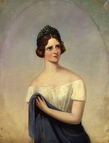 Jenny Lind, Porträt von Alfred d'Orsay (Quelle: Wikimedia)