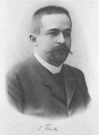 Johannes Thiele (chemist) - Image: Johannes Thiele ca 1890
