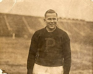 1922 College Football All-America Team - John Thurman of Penn.
