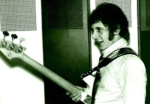 John Entwistle - Entwistle backstage with The Who, 1967