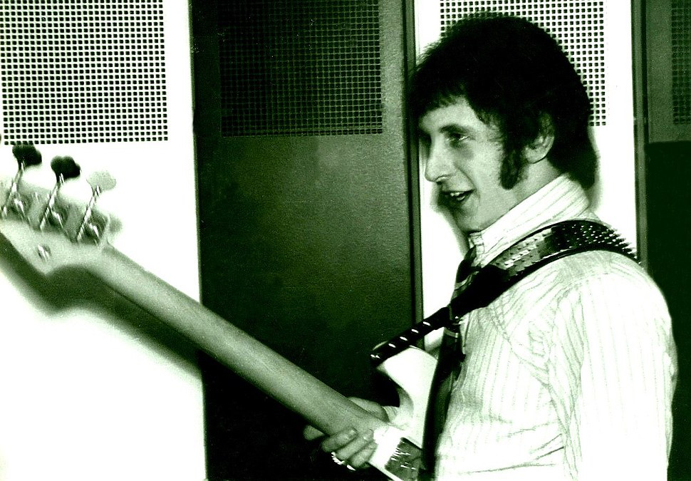 John Entwistle in 1967 with The Who
