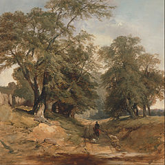 A Landscape with a Horseman