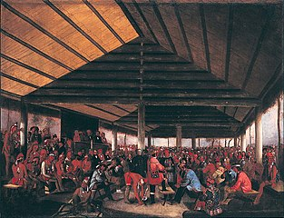 International Indian Council (Held at Tallequah, Indian Territory, in 1843)