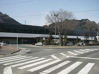 Jōmō-Kōgen Station railway station in Minakami, Gunma Prefecture, Japan
