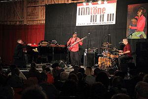 Jon Cleary (musician) - Image: Jon Cleary & The Absolute Monster Gentlemen 08