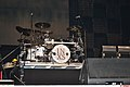 Jon Farriss of INXS drum kit, 2011-02-20 01.jpg
