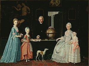Gerrit Willem van Oosten de Bruyn - Image: Jordanus Hoorn G.W. van Oosten de Bruyn and family FHM01 OS 86 284 W