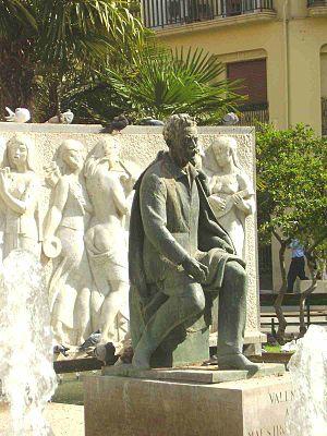 José Serrano (composer) - Statue of Josep Serrano