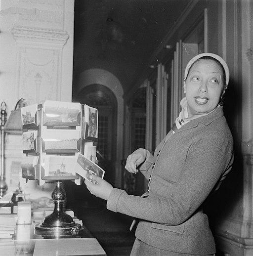 Josephine Baker in Amsterdam, Bestanddeelnr 906-3469
