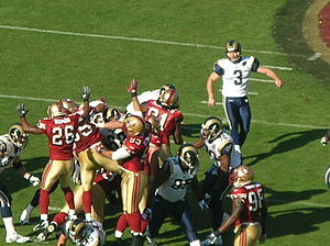 2008 St. Louis Rams season - Josh Brown kicks a field goal
