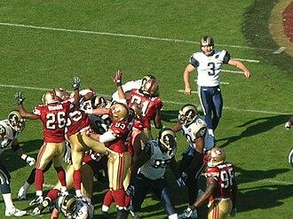 2008 St. Louis Rams season - Josh Brown kicks a field goal