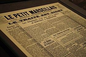 Le petit marseillais journal wikip dia - Le journal du pays d auge ...
