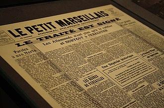 Le Petit Marseillais - Image: Journal Le Petit Marseillais
