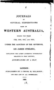 Journals of Several Expeditions Made in Western Australia.djvu